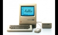 Macintosh Computer (1984). Yes, the Mac changed the world. Graphic design was transformed almost overnight into a near limitless electronic process. By 1990, centuries-old techniques of paste-ups, camera art, and handcrafting disappeared. Post-script typography, file transfer, photo alteration, and illustration programs soon followed. This was not evolution, it was revolution.