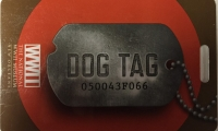 Dog Tag RFID cards allow visitors to personalize their museum visit by choosing to follow the video stories of people who served in the war.