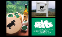 Packaging, signage and identity for Old Chatham Sheepherding Company, Old Chatham, NY (Chermayeff & Geismar)