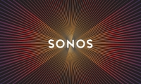"BMD refreshed the Sonos logo with ""amplified graphics."""