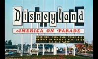 Disneyland Signage (1955). One of the first and best examples of graphics playing a major role in placemaking. Walt Disney used hundreds of colorful signs, icons, posters, and graphics to help define places. Theme parks, museums, and even retail environments followed his lead. (Photo: Disney)