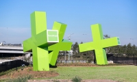 Over a four-year period the design team created, designed and installed a series of installations.