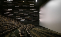 The concept continues through the auditoriums with a unique portrayal in each.