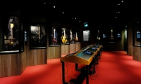 The Recordings gallery provides insight into the recording process, inviting guests to experiment with the band's back catalogue and see instruments that have played a significant part in their lives.