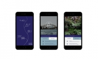 The Foreshore Story Line App interface offers a geo-located digital experience with site specific information and storytelling.