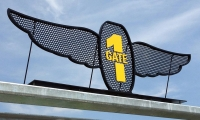 Turn 1 gate entrance
