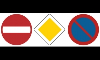 Fig. 7. European road signs