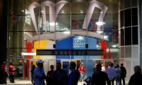 At the World Cup of Hockey in 2016, entries at the Galleria were graphically treated, immersing fans in the international World Cup of Hockey experience from their first steps into the space.