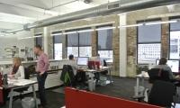 Employees hard at work at Kolar Design's office in Cincinnati.