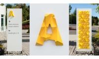 "SEGD Global Design Award-winning Studio Matthews project, ""Google Wayfinding"" (Photo credit: William Wright)"