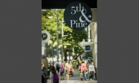 5th & Pine is Seattle's popular, walkable shopping district. (Alabastro Photography)
