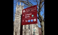 CGA's wayfinding program begins on Lake Shore Drive and nearby interstates as it guides UChicago's many visitors to the campus and key destinations.