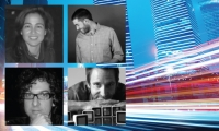 Xlab 2015: Smart Spaces, Smart Interfaces with Flavia Sparacino, (Sensing Places), Mike Clare (Intersection), Neil Redding (Gensler), and Darren David (Stimulant)