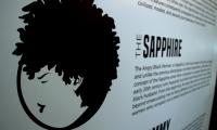 Black Women: Image & Perception in Popular Culture, title wall detail