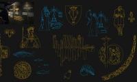 Illustrations of vikings