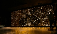 """Instagram moment"" James Squire bottle wall"