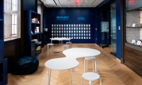 The Reading Room invites visitors to engage with interactive activities that reflect on and respond to the experience of the main gallery.