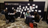 The Sketchbox was a creative pit-stop set up at NEXPO.