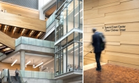 The fd2s design team's scope included wayfinding, placemaking and donor recognition strategy and design.
