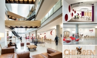 Differentiation of the Children's section was important to the architecture and design team.