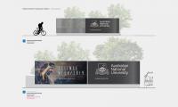 Australian National University Wayfinding, photo courtesy of BrandCulture