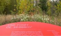 A wayfinding and interpretive sign program at Parc du Sergent Blandan in Lyon, France, won a 2015 Merit Award. (Design by Nicolas Vrignaud and Analia Garcia Ramirez)