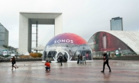 Sonos Paris out-of-home pop up store