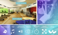 Fig. 4. Inertia is an interactive fitness gym system with motion-sensing input and smart earphones.