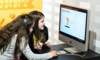 Fig. 6. Digital interfaces were designed by Joshua Bird, Daniel Echeverri, and Gina LaRocca, Kent State University, 2014.