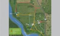 Map of Batoche Site.