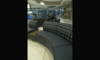 Fig. 2. This airport lounge furniture demonstrates concepts of systems thinking.