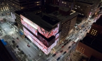 Contemporary Art Center projection mapping by Lightborne