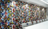 The Twitter room features a collage of user avatars.