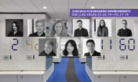 2019 Branded Environments Speakers are as follows: (Left to Right, Top to Bottom) Angela Hill, Eric LeVine, Katie Sprague, Nathan Hill, Jill Spaeth, Joe Lawton, Eli Kuslansky, Hyunmi Jenny Lee, Braulio Baptista