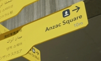 Brisbane's new pedestrian wayfinding signage is aimed at the city's growing Asian population.