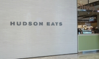 Hudson Eats Lettering at Brookfield Place