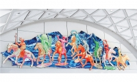 Calgary Airport Themeworks: West Ride Story, Alexandra Haeseker