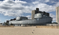 Ocean Wonders: Sharks! is a beautiful addition to the Coney Island Boardwalk. (Credit Sue Chin WCS)