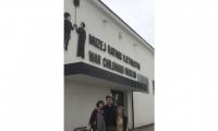 War Childhood Museum with Melisa, Jasminko (Founder) and Brenda