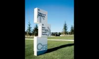 Crate & Barrel World Headquarters Signage and Wayfinding