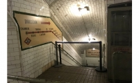 Estacion Museo Chamberi (Madrid): Between the Bilboa and Iglesia stations, metro trains pass right through a museum, but most of the passengers don't ever notice it. The Chamberi Station is a little metro history museum, accessible down a spiral stairway from the street.