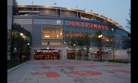 The new Washington Nationals Park features wayfinding and branding graphics by Catt Lyon Design. Designed by Populous (HOK Sport) and Devrouax + Purnell Architects, the $611 million park is located at Potomac Avenue and South Capitol Street in downtown D.C. The $1 million wayfinding program includes interior, exterior, and site signage.