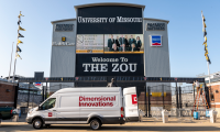 Mizzou Athletics zoning project by Dimensional Innovations