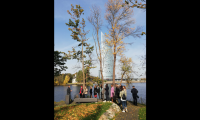 Riga Design Walk participants also visited local landmarks on their walk.