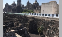 Templo Mayor: The ancient Hispanic cathedral in the zocalo is built on top of temples in the center of the sacred lake of the Mexicas. Templo Mayor is the excavation site and museum next to the cathedral.