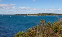 A view of Casco Bay.
