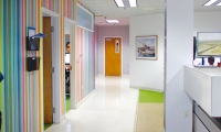 Interior of Designtex's Portland Office.
