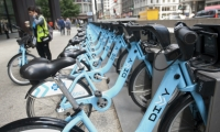 Ride, baby ride: You can now bike-share around the city to enjoy its treasures. Firebelly, which was responsible for the Divvy brand identity, will present at the SEGD Conference.