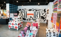 Story collaborated with Instagram illustrator Donald Robertson and curated merchandise around his work.