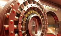 The entrance to the vault that holds Coca-Cola's secret recipe.